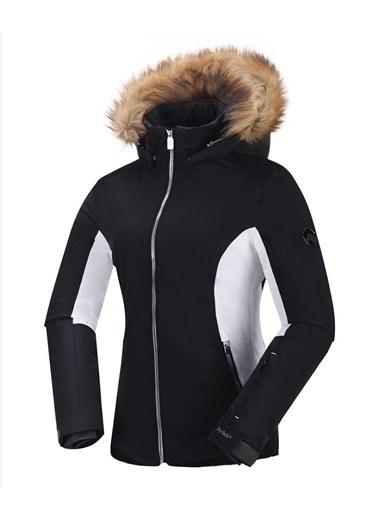 Panthzer  Sinica Kadın Kayak Montu Siyah Siyah
